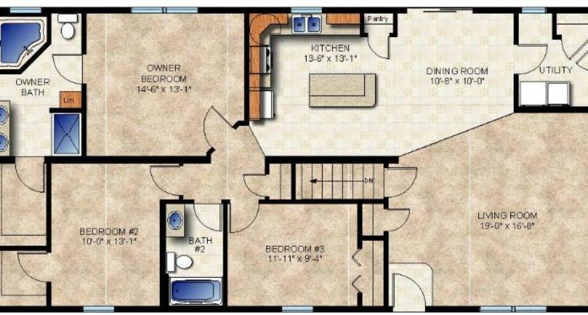 Abilene Modular Home Floor Plan
