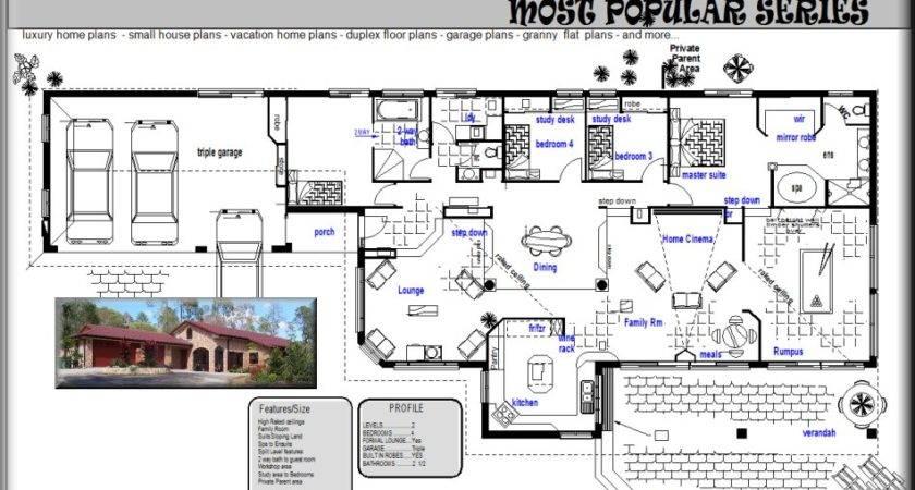 Acreage House Home Floor Plans Australian Sale Ebay