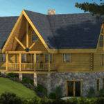 Adirondack Log Home Plan Southland Homes