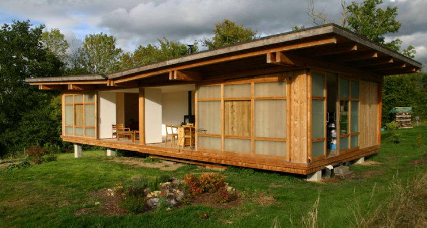 Affordable Modular Home Brings Outside Says