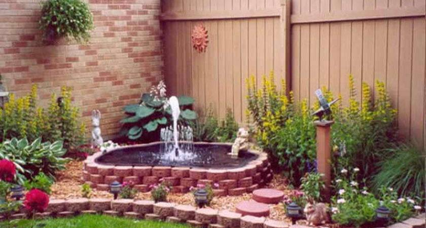 All Types Water Fountains Gardens Astonishing Outdoor