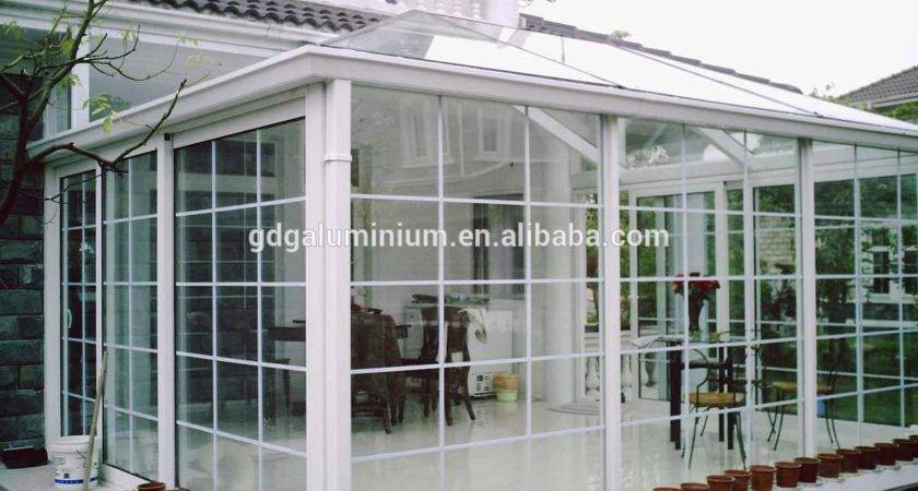 Aluminium Frame Thermal Insulation Glass Lowes Sunrooms