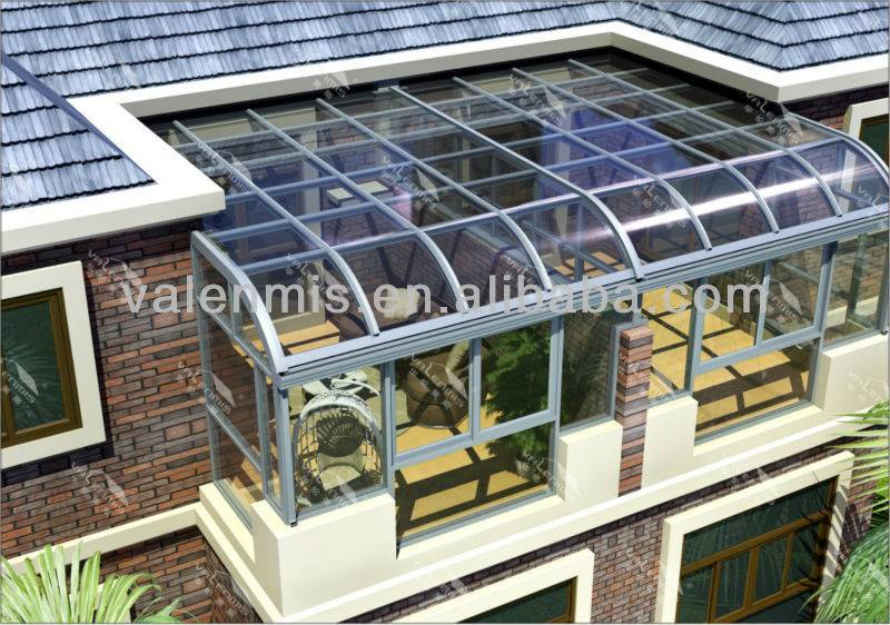 Aluminium Lowes Sunrooms Curved Glass Sunroom Buy