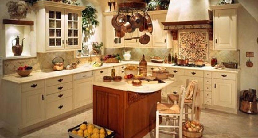 Amazing Great Splendid Tuscan Kitchen Decorating Theme