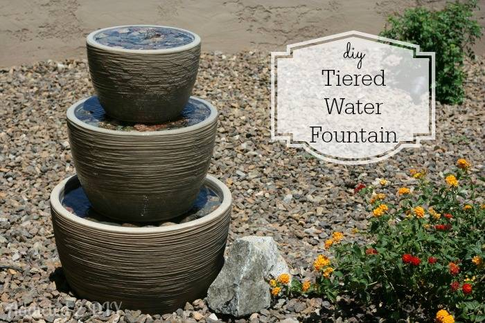 Amazing Homemade Garden Fountains
