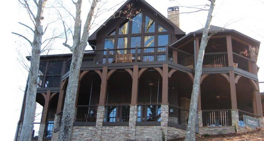 Appalachia Mountain House Rear