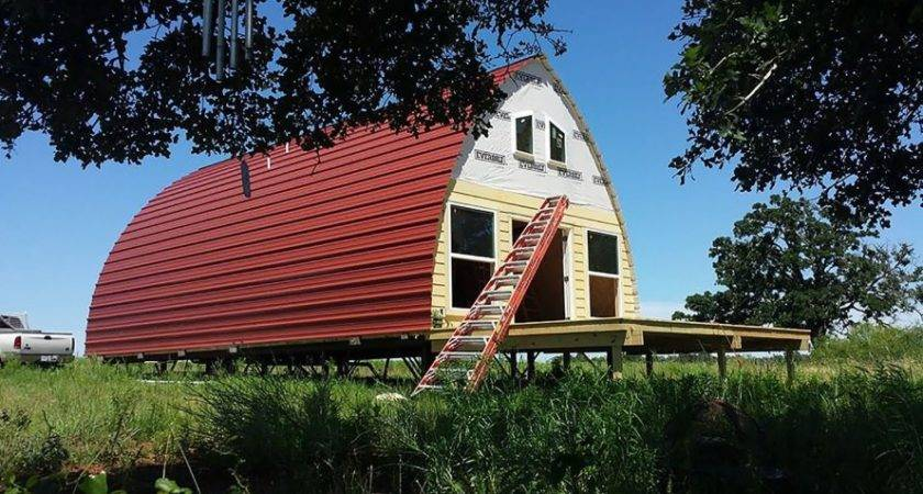 Arched Cabins Affordable Galvanized Steel Texas Prefab