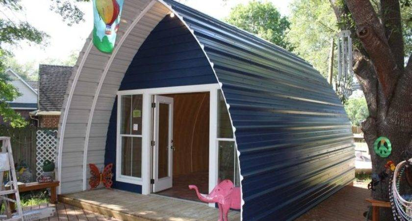 Arched Cabins Prefab Home Kit Ideas Cabin Pinterest