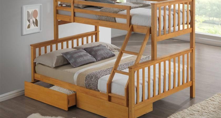 Artisan New Sleeper Wooden Bunk Bed Beech