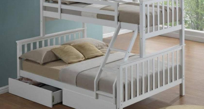 Artisan New Sleeper Wooden Bunk Bed White