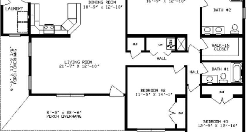 Ashwood Apex Modular Homes Ranch Floorplan
