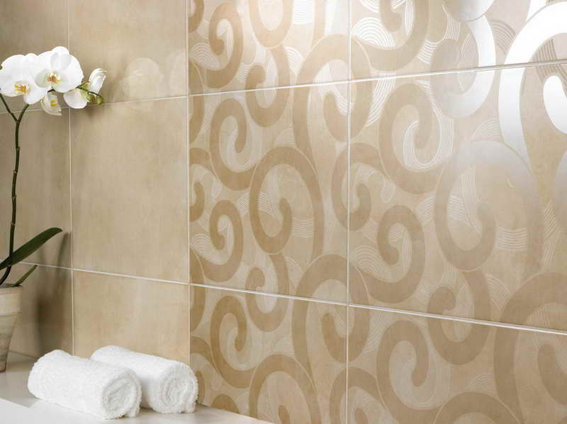 Awesome Bathroom Wall Tile Designs Flower Stroovi