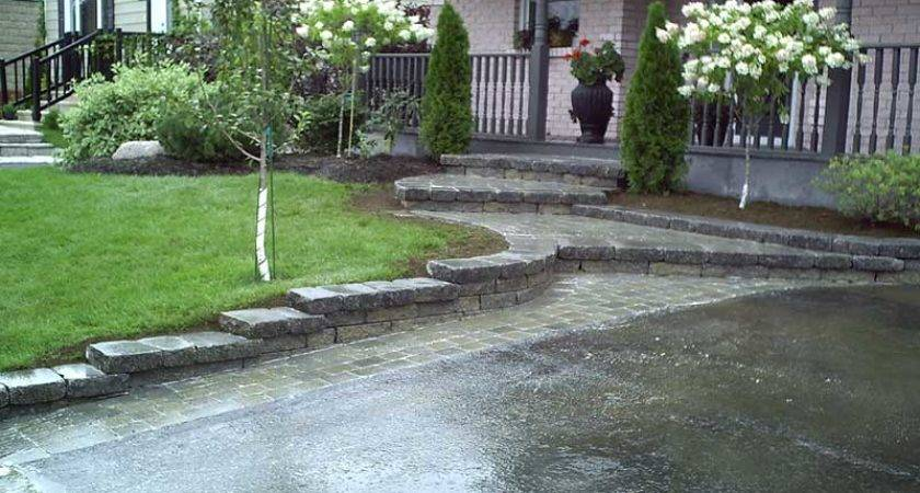 Awesome Driveway Landscaping Entrance