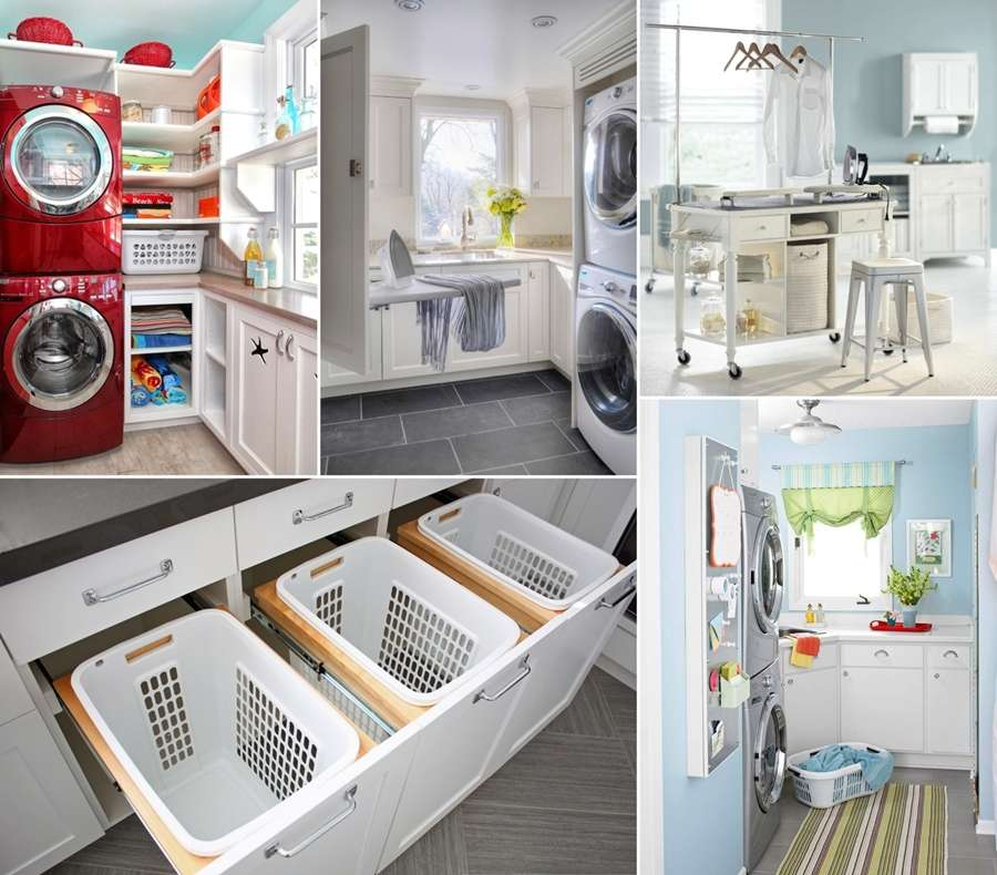Awesome Laundry Room Storage Organization Hacks