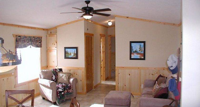 Back Single Wide Mobile Home Interior Remodel