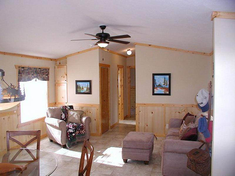 Back Single Wide Mobile Home Interior Remodel