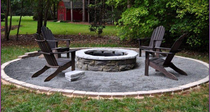 Backyard Fire Pit Landscaping Ideas Design Your Home
