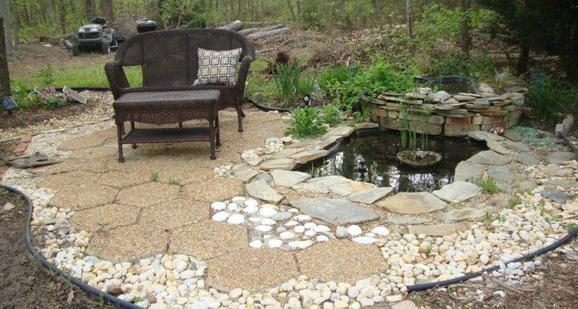 Backyard Water Feature Build Pond