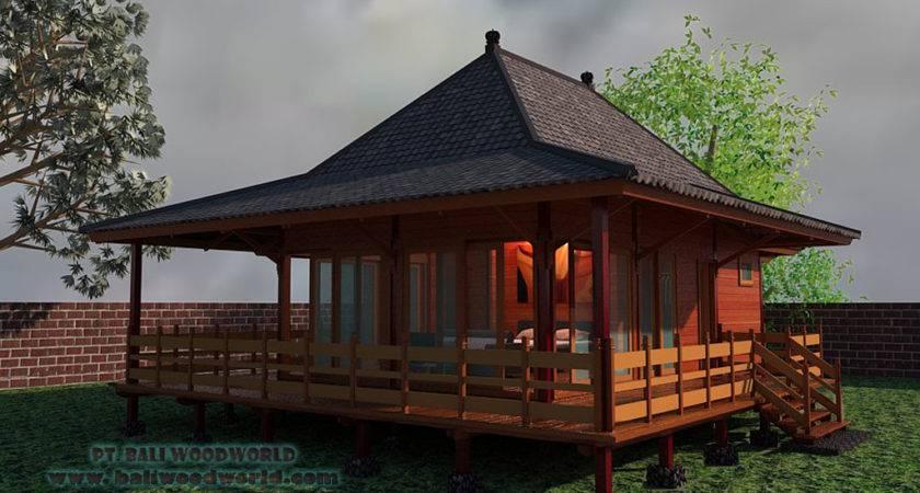 Bali Prefab Houses Knockdown Units Eco Cottages