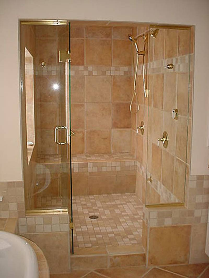 Bathroom Alluring Small Shower Designs