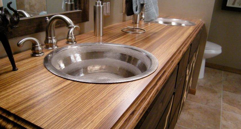 Bathroom Countertop Material Options Design Choose Floor