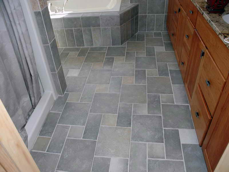 Bathroom Perfect Tile Floor Designs Bathrooms