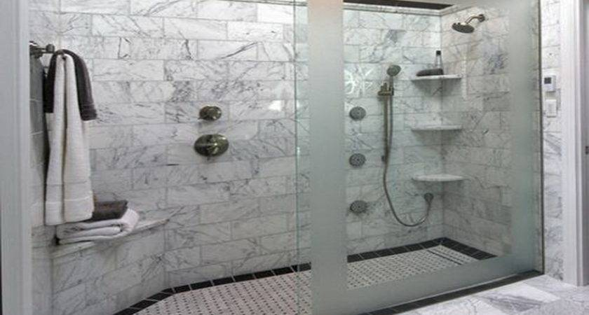 Bathroom Remodeling Large Shower Ideas Simple
