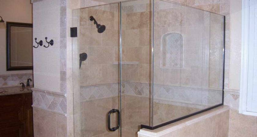 Bathroom Shower Tile Design Ideas Mirror Glass