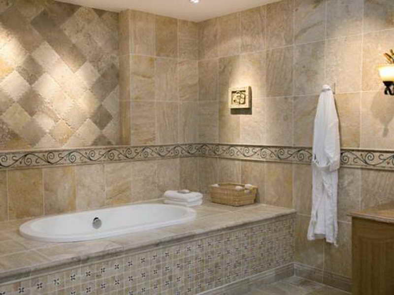 Bathroom Tile Designs Lamp Decoration