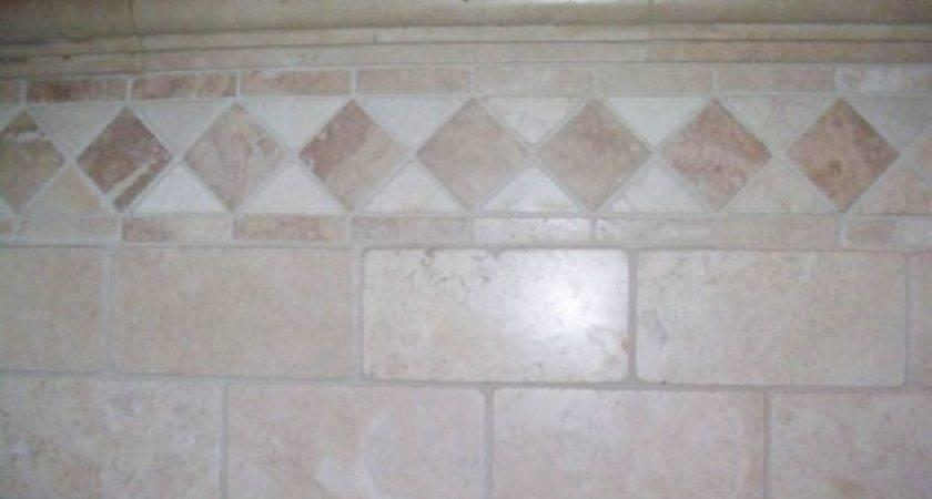 Bathroom Tile Natural Stone Border Pinterest