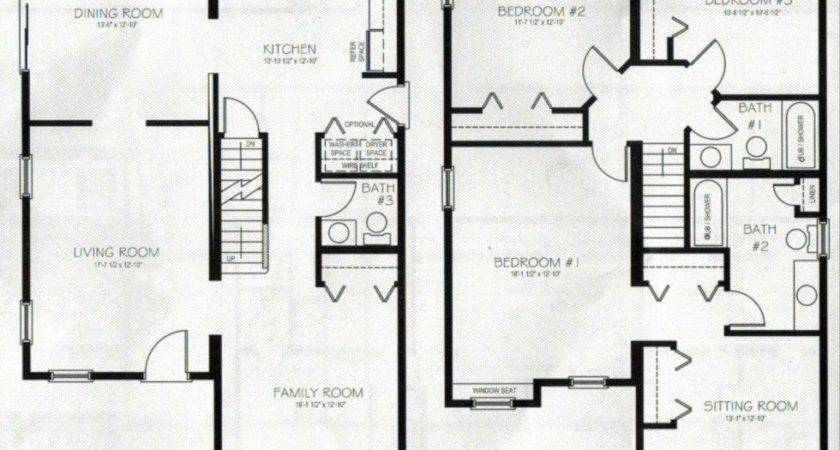 Beautiful Bedroom Storey House Plans New Home
