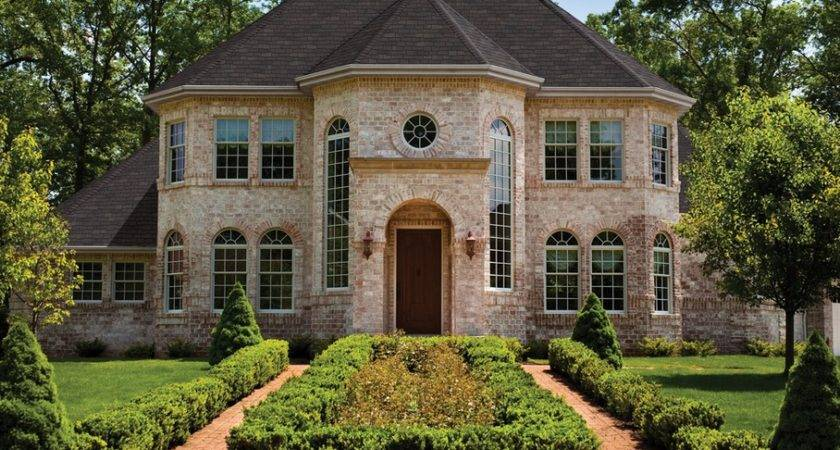 Beautiful Brick Homes Rich