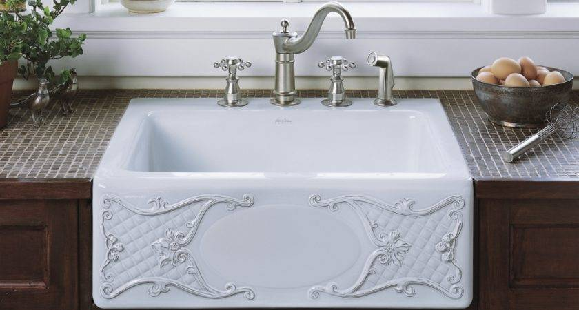 Beautiful Cast Iron Farmhouse Sink Homy Design