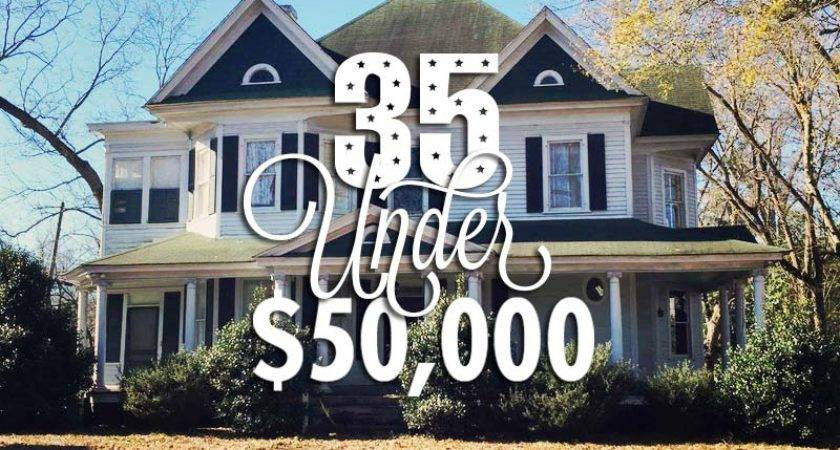 Beautiful Historic Homes Sale Under
