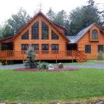 Beautiful Log Home Big Discussion Double Wide Erins