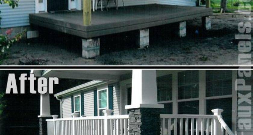 Beautiful Manufactured Home Porch Ideas