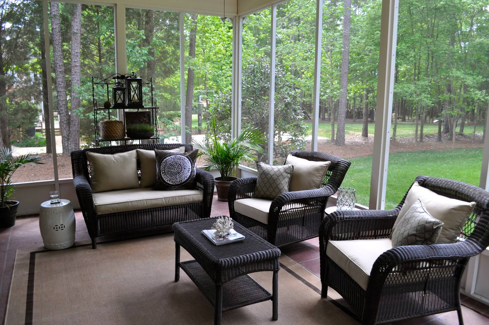 Beautiful Rattan Lowes Patio Furniture Living Room ... on Lowes Outdoor Living id=58114