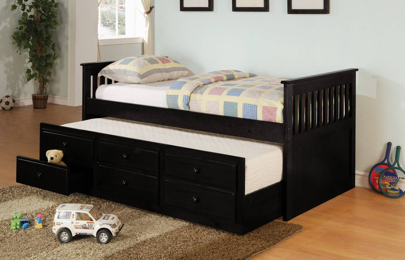 Bed Frame Made Wood Daybed Bunk Plans