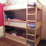 Bed Made Base Sides Very Bottom Bunk