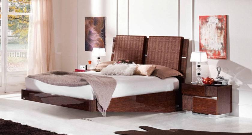 Bed Minimalistic Modern Looking Platform Design Which