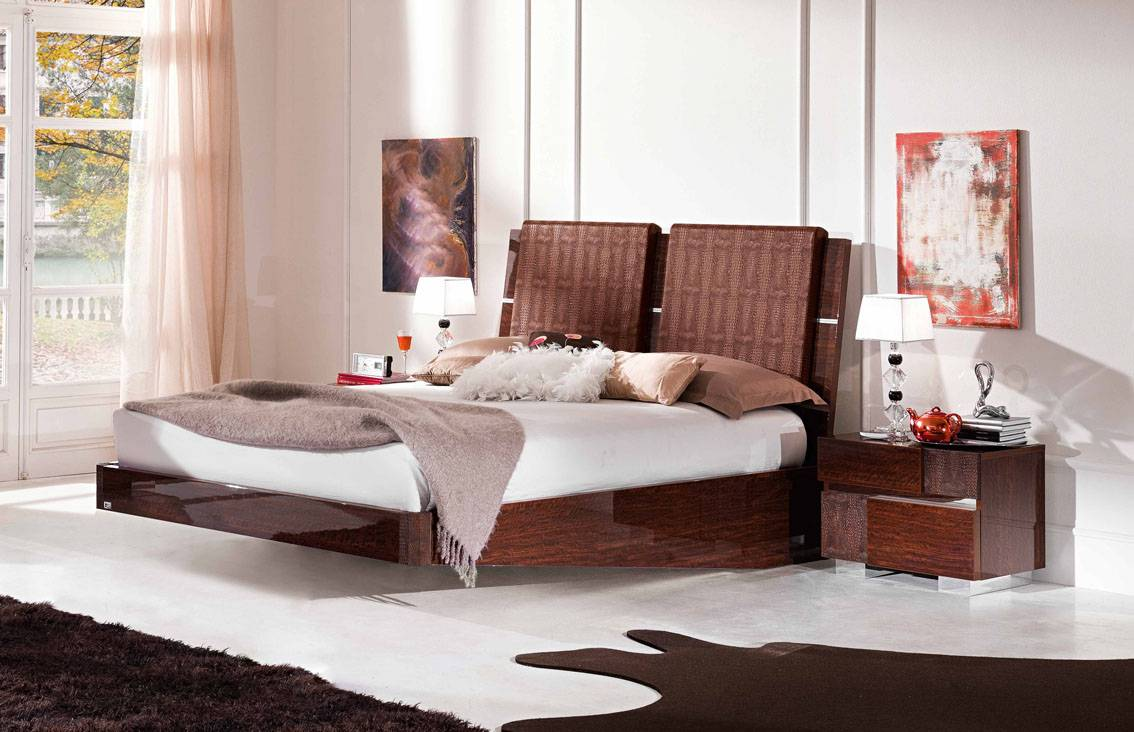 Bed Minimalistic Modern Looking Platform Design Which
