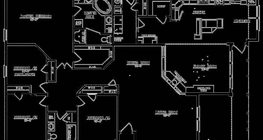 Bedroom Bath Floor Plans Homes