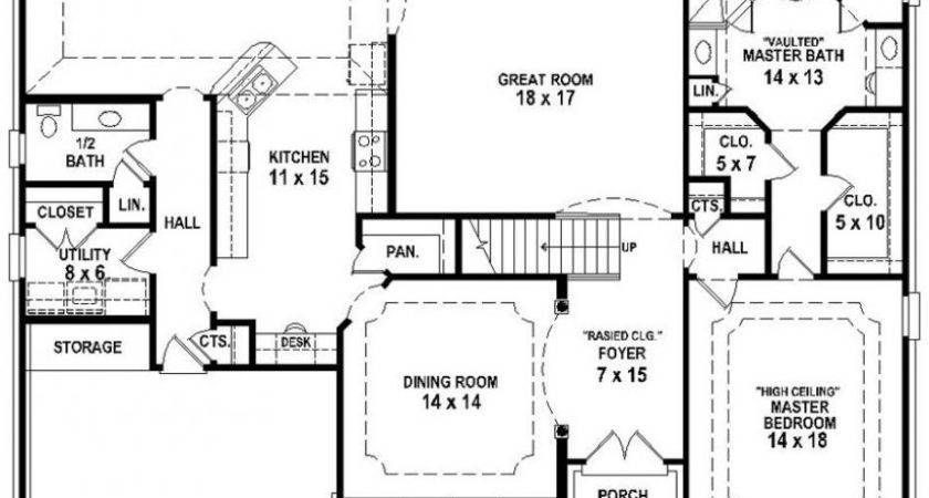 Bedroom Bath Floor Plans Marceladick