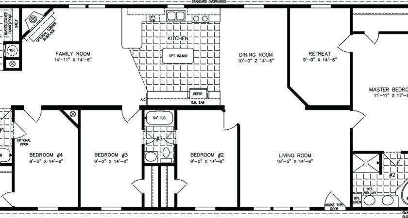 Bedroom Bath Mobile Home Floor Plans