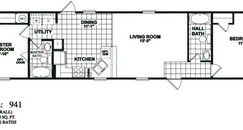 Bedroom Bath Oak Creek Mobile Home Manufactured