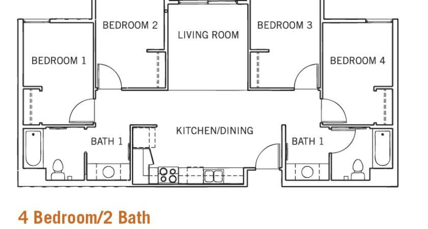 Bedroom Bath Per Single Occupancy Room