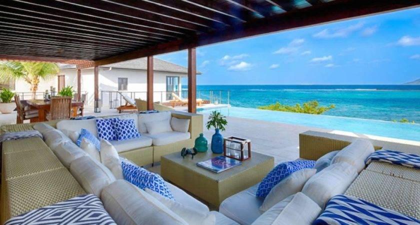 Bedroom Beachfront Home Sale Little Harbour Anguilla