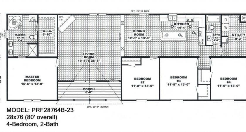 Bedroom Double Wide Mobile Home Floor Plans Fresh
