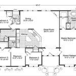 Bedroom Duplex House Plans Ranch Modular Home