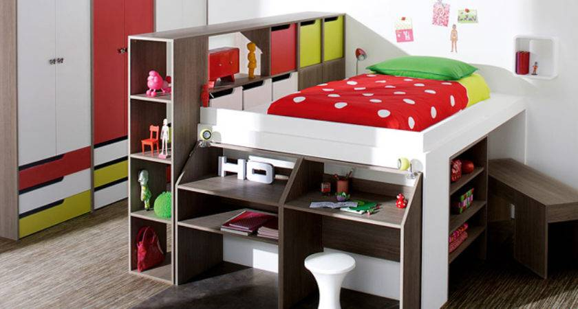 Bedroom Furniture Exciting Loft Bed Designs Home